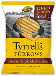 Furrows Cheese & Pickled Onion