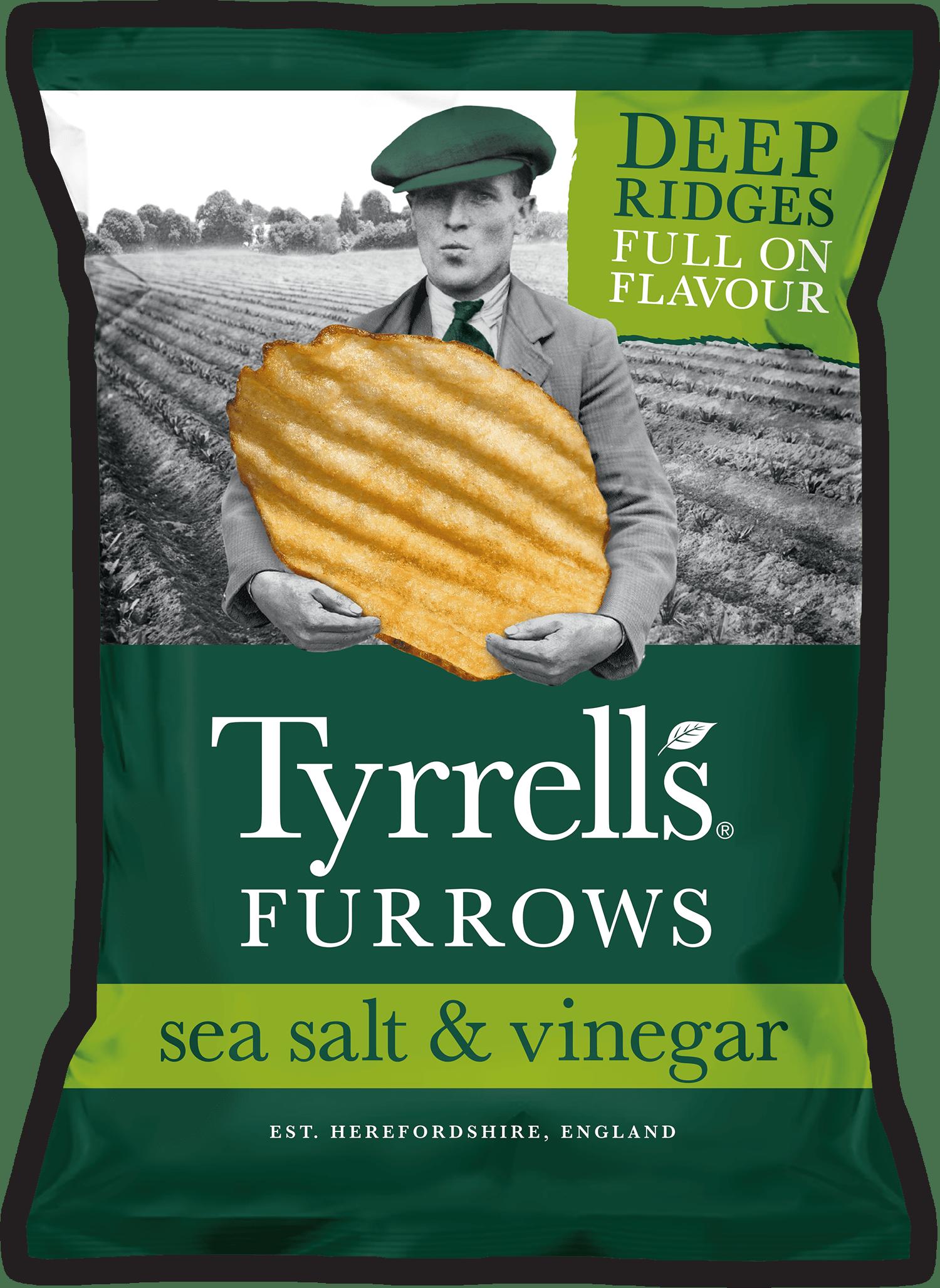 Furrows Sea Salt & Vinegar