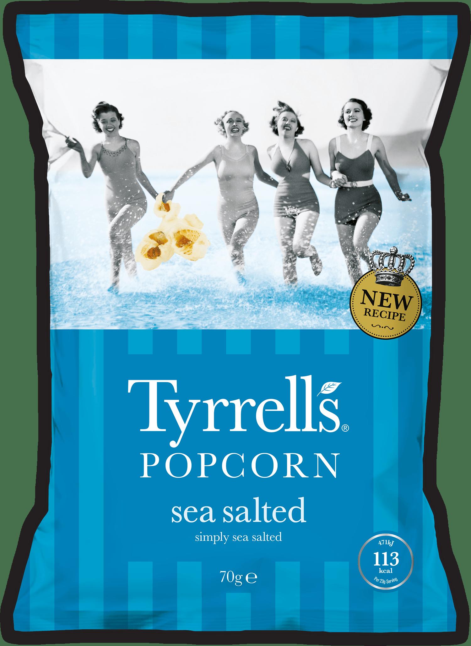 Sea Salted Popcorn