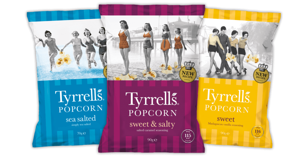 Tyrrells Popcorn