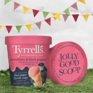 Tyrrells Strawberry Black PepperScoop