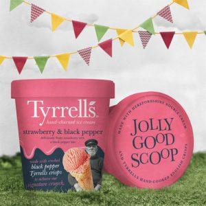 Tyrrells Strawberry Black PepperScoop