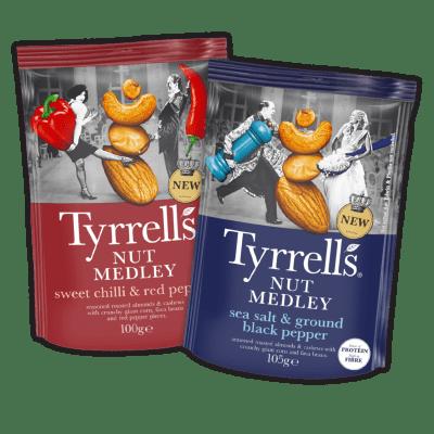 Tyrrells Nut Medley